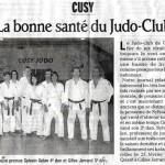 La bonne santé du Judo-Club - Le Dauphiné Libéré - 4 mars 2007