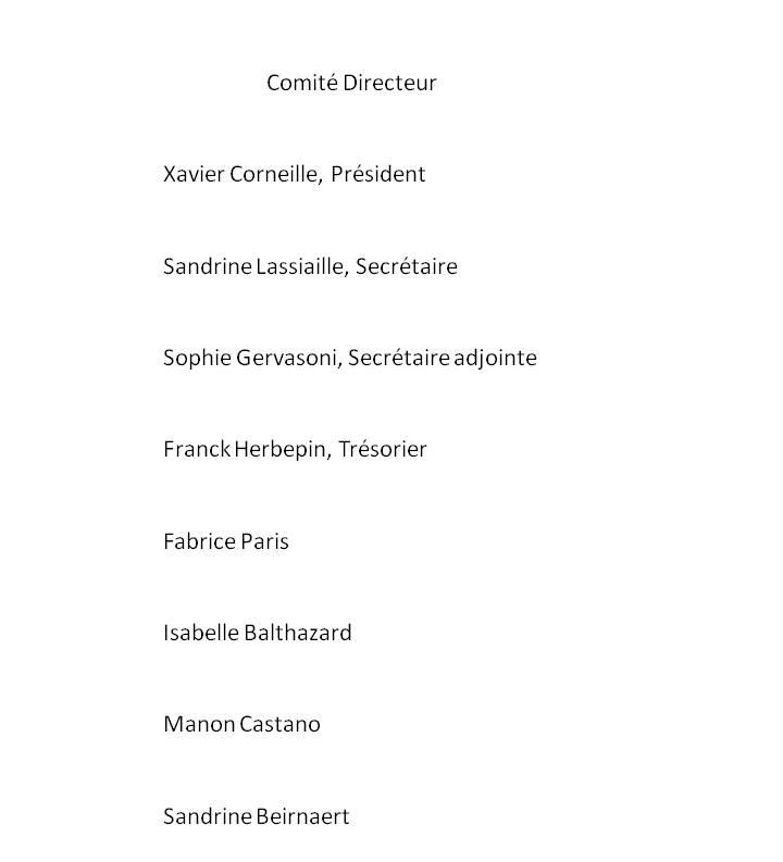 Comité Directeur 2021