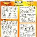 Programme technique pour la ceinture jaune-orange et orange