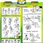 Programme technique pour la ceinture orange-verte et verte
