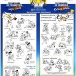 Programme technique pour la ceinture bleue et marron