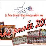 Carte de Voeux Judo Club de Cusy 2014