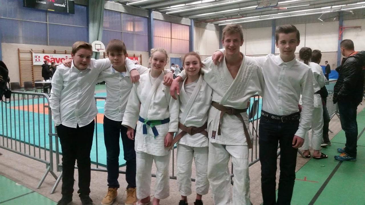 entrainement judo cadet
