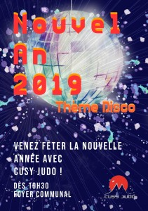 Nouvel An 2018 Menu recto
