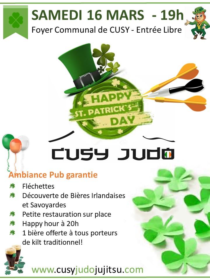 Saint Patrick Cusy Judo Mars 2019