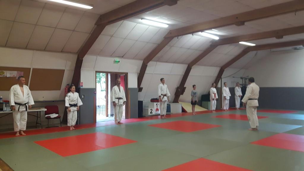 Retour de nos jujitsukas et pratiquants de self défense !