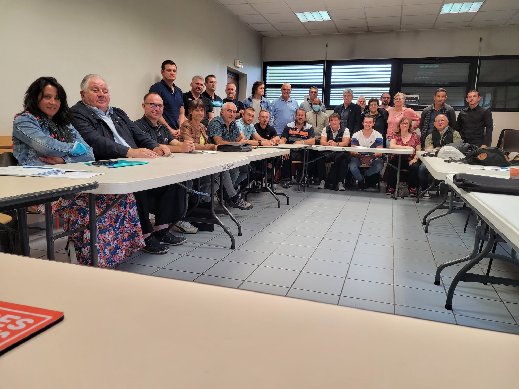 colloque dirigeants-enseignants_photo Comité de Savoie